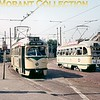 On the left is HTM Den Haag PCC tramcar no. 1164 on lijn 11 to Scheveningen Haven with car no. 1224 on lijn 12 on the right photographed in 1969.<br> [<i>Mike Morant collection</i>]