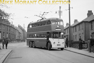 Huddersfield Corporation buses Fleet no.: 631 Registration: PVH 931 Chassis: Sunbeam Body: East Lancs. Entered service: 12/59 Withdrawn: 7/68 [Mike Morant collection]