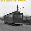 Former GCR car no. 12 arriving at Immingham Docks tram station on the Grimsby & Immingham Light Railway.<br> [<i>Mike Morant collection</i>]