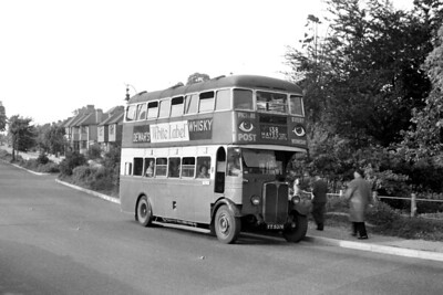 London Transport, Tilling STL 76, registration YY 5376, on route 138 which went from Bromley North station to Hayes and Coney Hall and is depicted here in Pickhurst Lane. STL 76 was new to the LGOC, aka GENERAL, in 1933 and spent its entire revenue earning life stationed at Bromley (TB) garage where it would be withdrawn in July 1947. It did see a few more months of use as a training vehicle based at various garages. [Mike Morant collection]