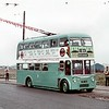 Teesside Municipal Transport trolleybus<br> Fleet no.: 291<br> Registration: VRD 186br> Chassis: Sunbeam<br> Body: Burlingham<br> Entered service: 1970<br> Withdrawn: 4/71<br> Ex-Reading 186.; built 1961; preserved at Sandtoft.<br> [<i>Mike Morant collection</i>]