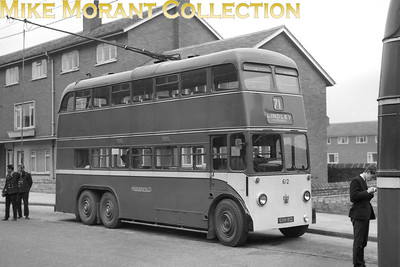 Huddersfield Corporation buses Fleet no.: 612 Registration: GVH 812 Chassis: BUT Body: East Lancs. Entered service: 10/53 Withdrawn: 6/67 [Mike Morant collection]