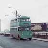 Teesside Municipal Transport trolleybus<br> Fleet no.: 261<br> Registration: GAJ 11<br> Chassis: Sunbeam<br> Body: East Lancashire<br> Entered service: 5/50<br> Withdrawn: 4/71<br> [<i>Mike Morant collection</i>]
