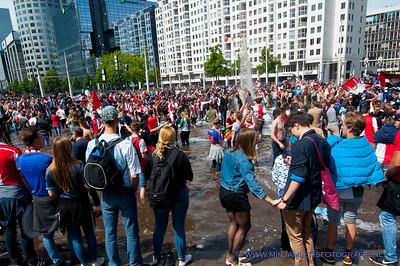 Huldiging Feyenoord
