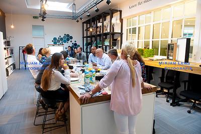 Linkedperfect Businessclub ontbijt bij Sprank - mirjam lems fotografie