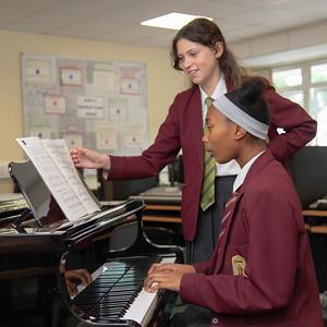 Saint Cecilia's School promotion prospectus