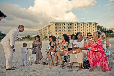 Treasure Island FL Sunset Vistas Beach Wedding by St Petersburg Photographer Kristen Sloan