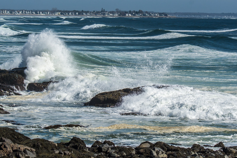 Surf,Ogunquit Maine