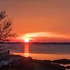 Sunrise over Plum Island