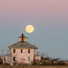 "Supermoon over the ""Pink House"""