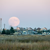 Moonrise over Plum Island