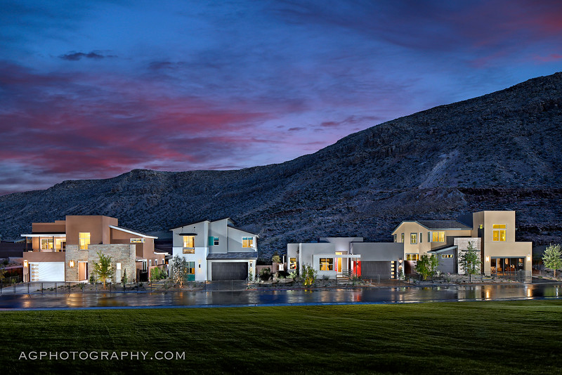 Terra Luna Models by Pardee Homes, Summerlin, NV, 4/20/18