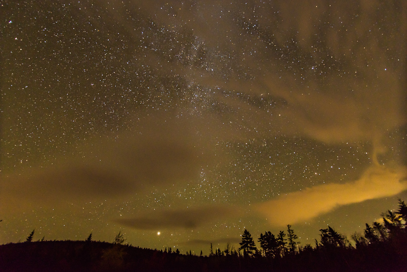 Night Sky, Pemigewasset Overlook