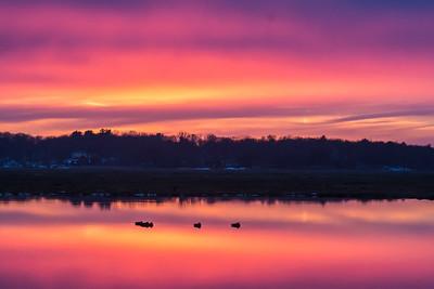 Sunset Plum Island