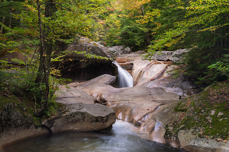 The Basin, White Mountains NH