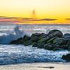 Surf at sunrise