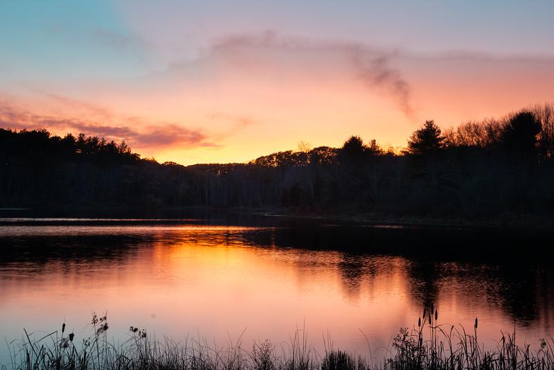Sunset, Mill Pond