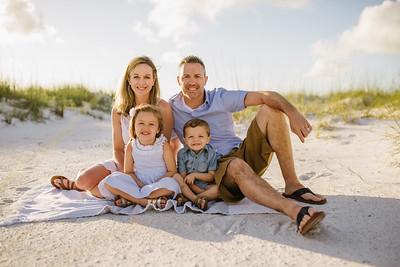 Anna Maria Island Family Beach Portraits
