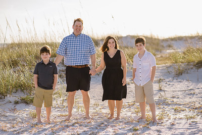 Anna Maria Island Family Portraits At Bean Point