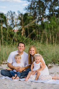 Anna Maria Island Florida Family Beach Portraits
