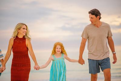 Anna Maria Island Family Photos at Bean Point