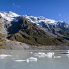 Hooker Glacier Lake - Mt Cook National Park