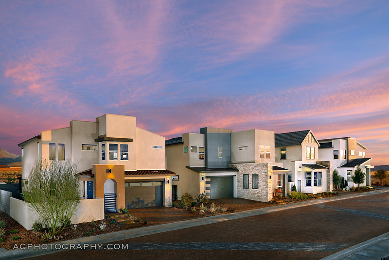 Arden Models at Inspirada by Pardee Homes, Henderson, NV, 4/21/20.