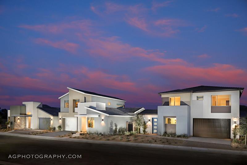 Atlas Models by Tri Point Homes, Las Vegas, NV, 1/22/21.