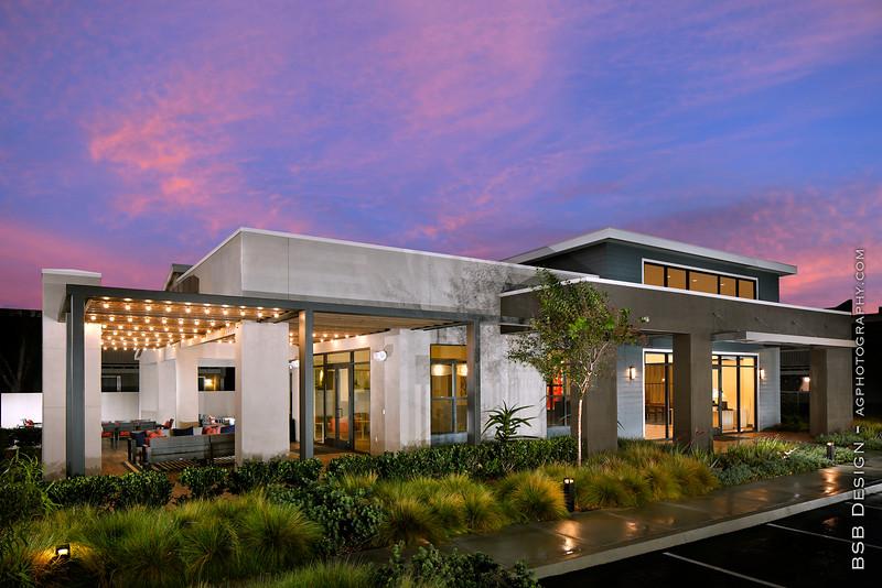 Axiom Leasing Office by BSB Design, Tustin, CA, 10/30/20.