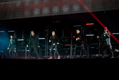 Backstreet Boys Perform in Toronto