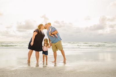 Clearwater Florida Family Beach Photos