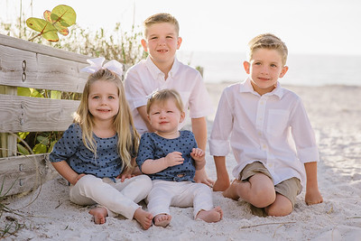 Belleair Beach Florida Family Photos