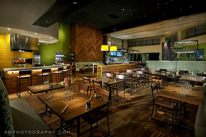 Commissioned by and licensed to Aria Group Architects and California Pizza Kitchen.