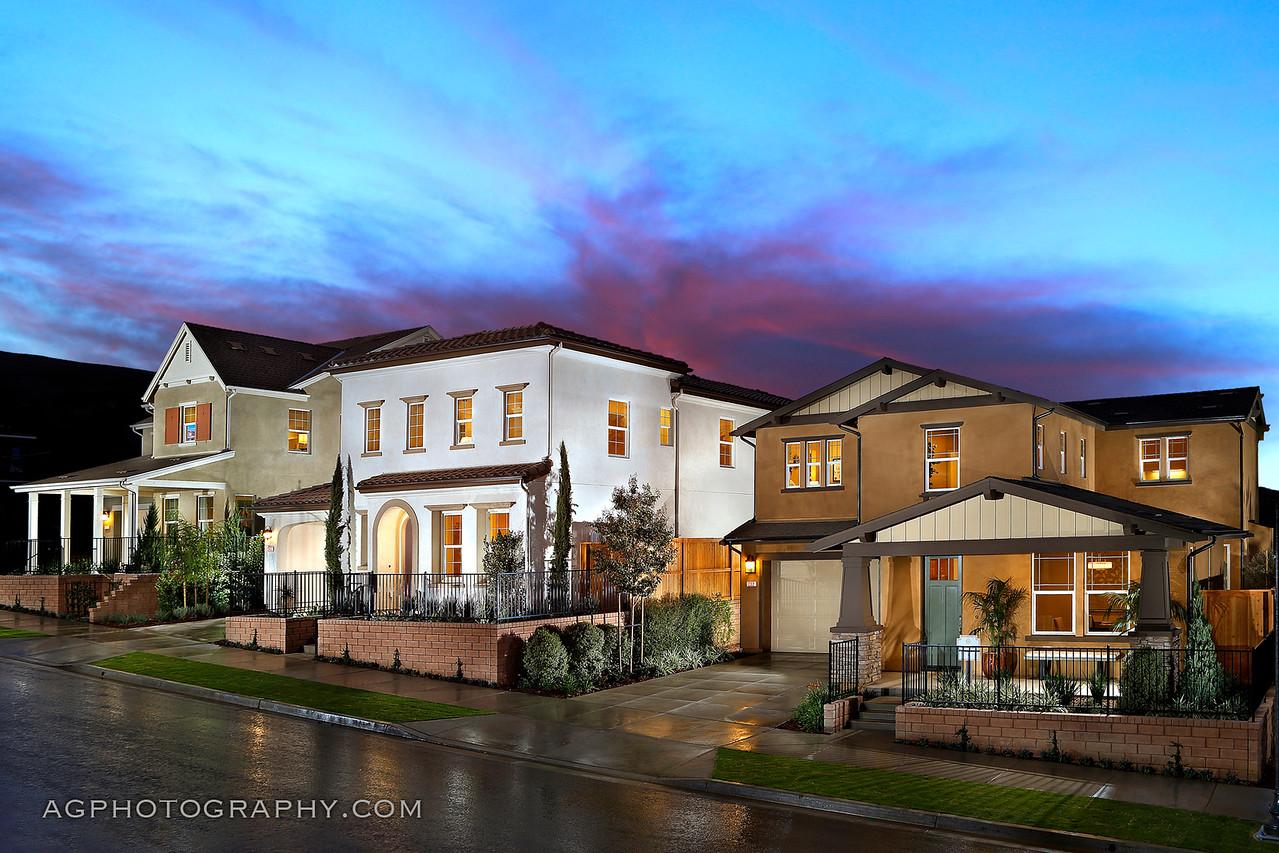 Barcelo at Solana Heights by Cal Atlantic Homes, Ventura, CA, 11/2/17.