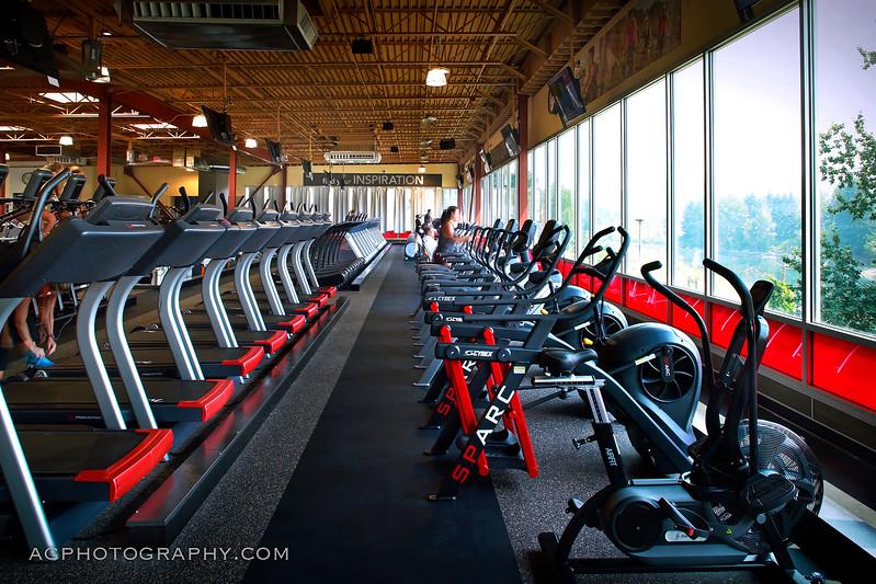 24 Hour Fitness, Club 427 - Gladstone Super Sport, OR. 8/3/17.