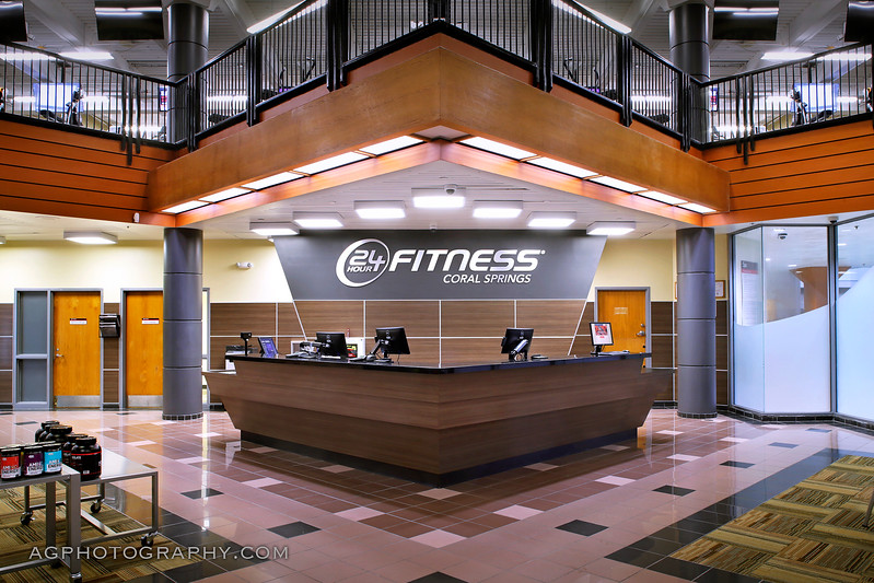 24 Hour Fitness, Club 216 - Coral Springs Sport, FL. 1/30/17.