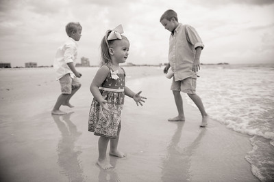 Bilmar Beach Resort Family Beach Portraits Treasure Island FL