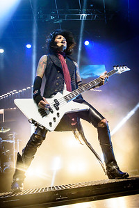 Black Veil Brides Perform in Toronto
