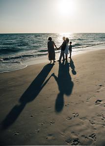 St Pete Beach Treasure Island Family Portraits by St Petersburg FL Photographer Kristen Sloan