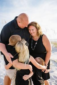 St Pete Beach Family Portraits at Bon Aire Resort