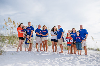 St Pete Beach Family Portraits at Bon Aire Resort