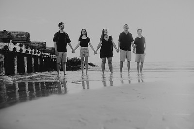 Bradenton Beach Family Sunset Photos