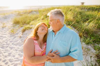 Bradenton Beach Couples Portraits