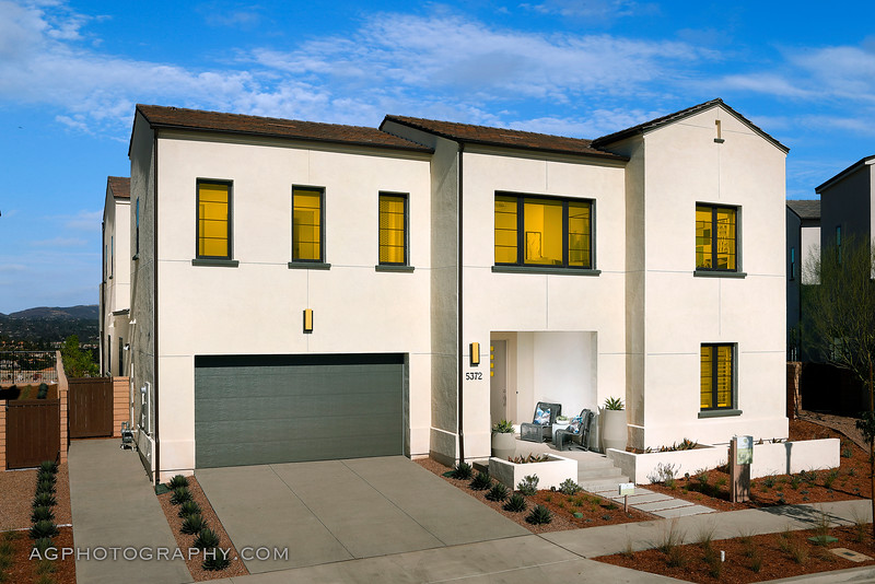 Carmel Models by Pardee Homes, Del Mar Heights, San Diego, CA, 11/19/18.