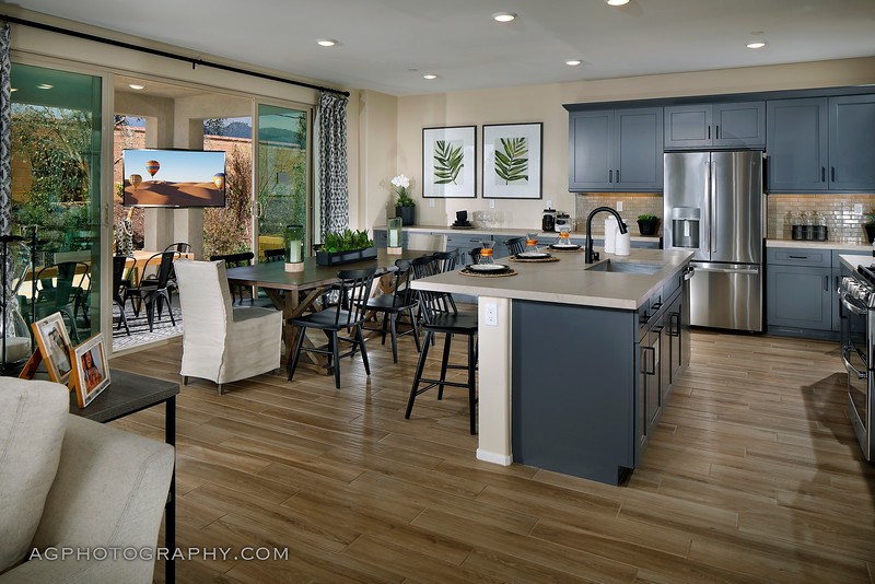 Cienage Models at Atwell by Pardee Homes, Banning, CA, 5/8/20.