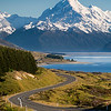 The road to Aoraki/Mt Cook - New Zealand