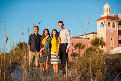 Don Cesar Family Beach Portraits