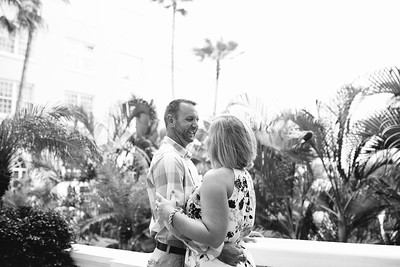Don Cesar Hotel Couples Anniversary Beach Portraits