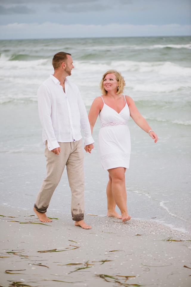 Don Cesar Hotel Couples Anniversary Beach Portraits