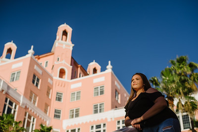 Don Cesar Hotel Senior Portraits St Pete Beach